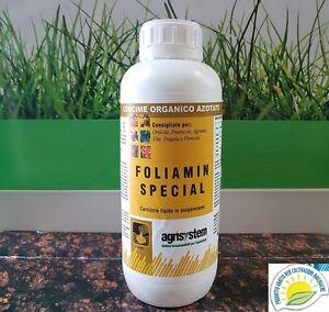 Foliamin Special CONCIME FOGLIARE  ORGANICO AZOTATO BIOLOGICO amminoacidi  KG 1