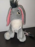 Vintage Eeyore Plush Disneyland Walt Disney World Very Rare Soft Toy Retro