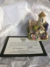 """lilliput lane cottages """"Gold Top"""" With Deed"""