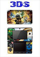 SKIN STICKER AUTOCOLLANT DECO POUR NINTENDO 3DS REF 200 LEGO NINJAGO