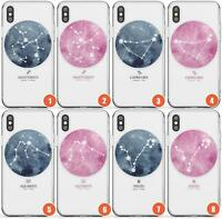 Astrological Watercolour Zodiac Signs Slim Phone Case for iPhone | Zodiac Clear