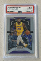 Lebron James 2019 Panini Prizm #129 PSA 10 GEM MINT Lakers