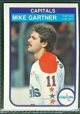 Mike Gartner 1982-83 OPC '82 O-Pee-Chee NHL Card #363 NMb Washington Capitals