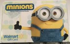 WalMart Despicable Me 2 King Bob The Minion Minions! 2015 Gift Card FD-48844