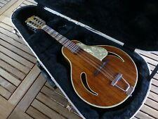 Mandoline Hofner Jazz Archtop 547 années 1960 en palissandre avec flight case