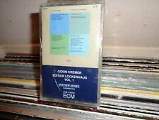 GIDON KREMER  ECM JAZZ EDITION DOUBLE CASSETTE  SEALED