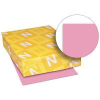 Neenah Paper Exact Brights Paper 8 1/2 x 11 Bright Pink 50 lb 500 Sheets/Ream
