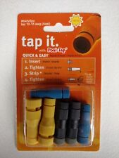 ZRTL-645-6 Lockitt Posi-Tap Yellow,black,blue asst wire tap for 10-18 ga. 6 pack