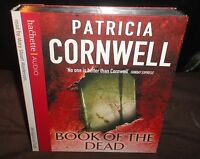 Patricia Cornwell - Book Of The Dead (AUDIO BOOK CD) 5 Discs