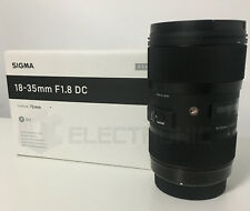 Nuovo Sigma 18-35mm F1.8 DC HSM Art Lens For Canon