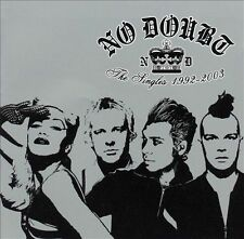 The Singles 1992-2003 [Import Bonus Tracks] by No Doubt (CD, Nov-2003, Universal
