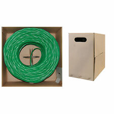 1000ft Cat6, Utp, Bulk Cable, Solid, 500Mhz, Green 1000 ft 10X8-051Th