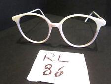 POLO RALPH LAUREN Vintage Round White Eyeglass Frames (RL-86)