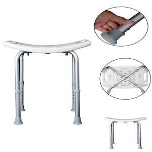Easy Aluminium Portable Shower Stool Bathroom Seat Chair Bath Disability Aid
