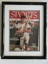 TED WILLIAMS SIGNED AUTOGRAPH SPORTS ILLUSTRATED S.I. COVER UDA COA