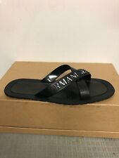 Mens Armani Slippers Size 8