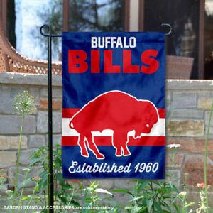 Buffalo Bills Throwback Retro Vintage Official Garden Yard Banner Flag