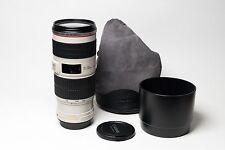 Canon EF 70-200mm f/4L IS USM Lens, includes ET-74 Lens Hood, LP1224 Case, Caps