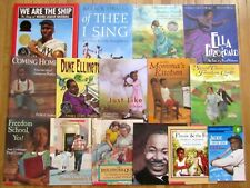 Lot 15 AFRICAN AMERICAN & BLACK HISTORY Picture Books children of color L3