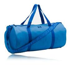 faf803f272 Under Armour Womens Favorite Barrel Duffel Bag Blue Sports Gym Full Zip  Pockets