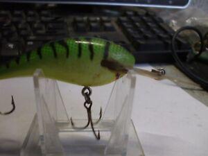Strike King Crankbait greeb tiger stripe Deep Diving Fishing Lure