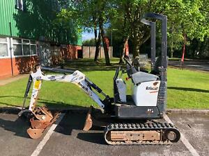 Bobcat E10 Compact Excavator / Digger with 3 Buckets (Finance Available)