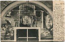 1905 Roma S. Pietro Carcere Vaticano Raffaello Sanzio Montelimar Drome FP B/N VG