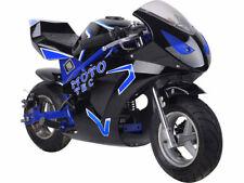 MotoTec Gas Pocket Bike GT 49cc 2-Stroke - Blue,Red or Yellow - MT-Gas-GT