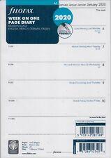 Filofax A5 2020 Kalender Einlage Wochenblätter 1Woche 1Seite Kalendarium 2068517