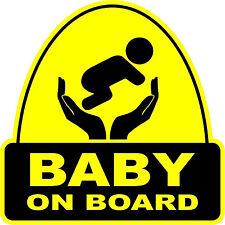 Baby On Board VINYL STICKER Decal Sign Child  Car  Window Safety