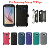 Fits Samsung Galaxy S7 Edge Case Cover with Belt Clip Fits Otterbox Defender New