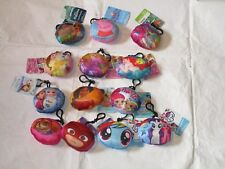 """Birthday Girl Party Favor Lot 12 Squishy 4"""" backpack Carabiner Clip $0Ship"""