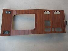 Mercedes W124 Zebrano Wood Shifter Panel 300E E320 E420
