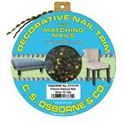 C.S. Osborne 10 Yards French Natural Finish Decorative Nail Trim 6710-FN