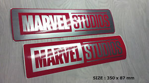 Two Stickers MARVEL studios 30 cm!
