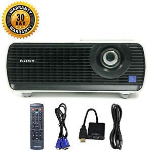 Sony VPL-EX175 3LCD Projector 3600 ANSI HD 1080p HDMI-adapter w/Remote