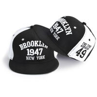 Women Men Baseball Cap Embroidery Letter Snapback Hip Hop Flat Cap Dad Hat