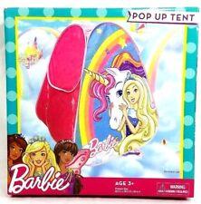 Barbie Dreamtopia Unicorn Pop up Play Tent Playhut Popup Playhouse Princess