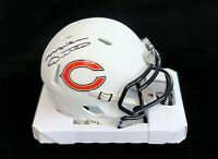 Mike Ditka Chicago Bears Signed Autographed White Mini Football Helmet JSA COA