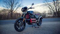 BMW K 100 RS Scrambler Handmade Umbau GS Custom Bike