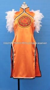 Tekken 5 Ling Xiaoyu Cosplay Costume With Shoes Size M