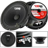 "DS18 8"" Midrange Loudspeaker 580 Watts Max 190 Watts Rms 4 Ohm Pro-8.4 2 Pack"