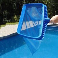 Heavy-duty Deep Water Net Swimming Pool Rake Bag Head Spas Skimmer Leaf Cleaning