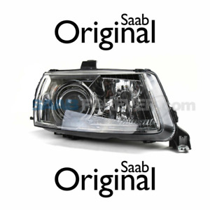 SAAB 9-5 02-05 PASSENGER RIGHT HEADLIGHT LAMP XENON 4 PARTS GENUINE OEM 5496393
