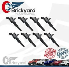IGNITION COIL SET OF 8 DG508 BRICKYARD FORD LINCOLN MERCURY MULTISPARK EPOXY