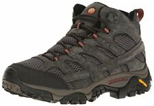 Merrell Men's Moab 2 Mid Waterproof Hiking Boot, Beluga, 8 M US