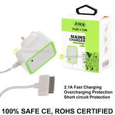 "RETE ELETTRICA 2.1A Veloce Caricabatterie Per Samsung Galaxy Tab P1000, TAB 2, 7.0"", 8.9"", 10.1"""
