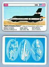"""""""Spirit Of America Sonic I""""  - World Record Holders 1970s Top Trumps Card"""