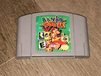 Banjo-Tooie Nintendo 64 N64 Cleaned & Tested Authentic
