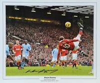 Wayne Rooney Manchester United Autographed 8x10 Signed Photo Reprint